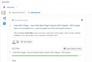 yoast seo powerful content analysis